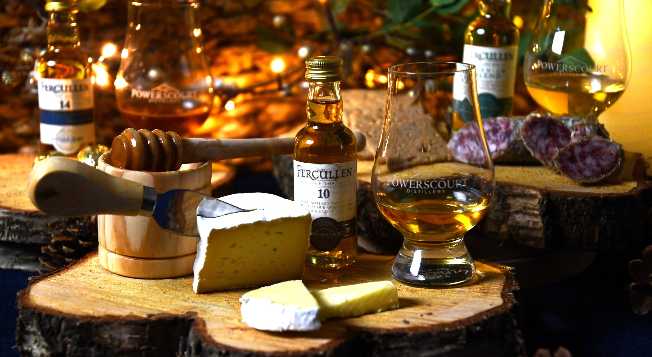 Relax, Indulge, Savour with Powerscourt Distillery's Delicious Whiskey & Food Pairing Hampers