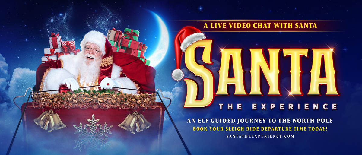 BRINGING THE MAGIC OF VISITING SANTA TO FAMILIES AROUND THE WORLD, FROM THE COMFORT & SAFETY OF THEIR OWN HOMES THIS HOLIDAY SEASON